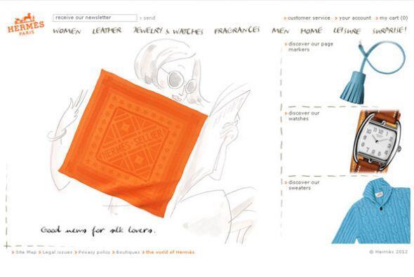 MODA/ HERMES- El grupo francés de productos de lujo Hermes quedó en prim...