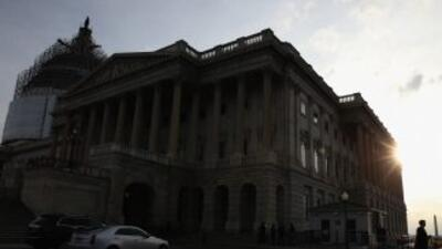 El Capitolio de Washington, donde trabaja el Senado.