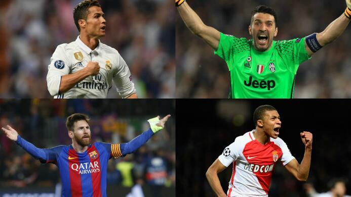 ¡Equipazo! La formación ideal de la Champions League 2016/17 Champions.jpg