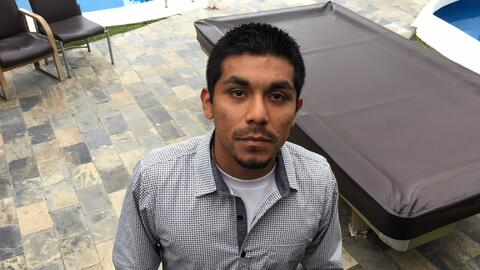 Ivan Velazquez, 27, was born in Los Angeles, California, to immigrant pa...