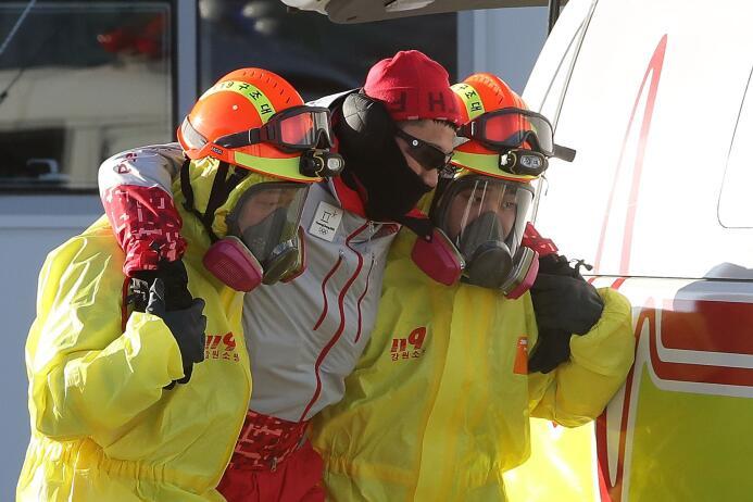 Intenso entrenamiento antiterrorista para los Olímpicos de Invierno en C...