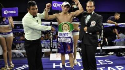 Horacio 'Violento' García venció a Jonathan Pérez (Foto: Canelo Promoti...