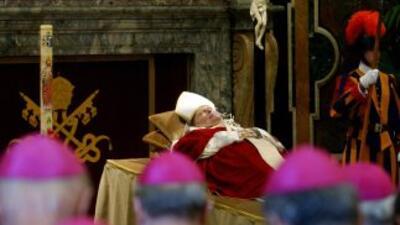 El papa Juan Pablo II murió el 2 de abril del 2005.
