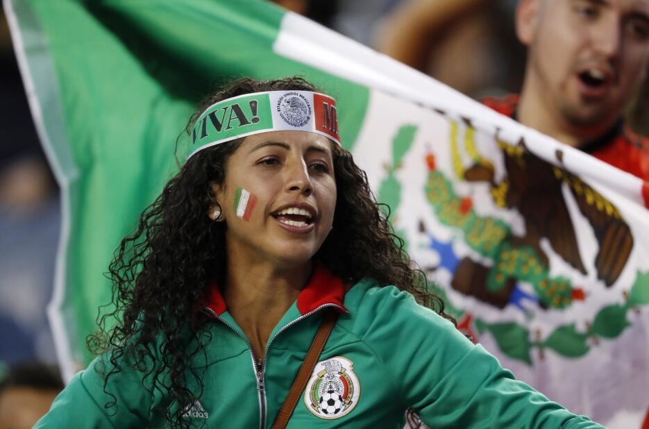 Lindas fans de la Copa Oro