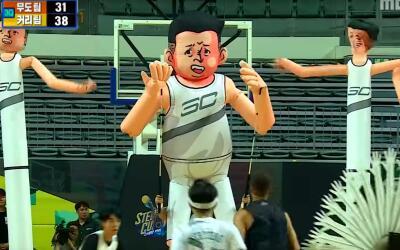 Los hermanos Curry se divirtieron como nunca en Corea del Sur.
