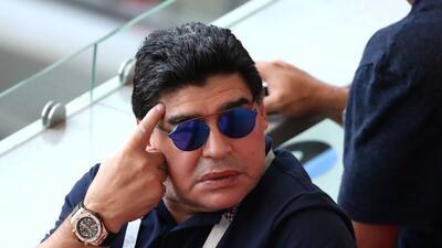 Maradona se molesta por no ser considerado candidato para dirigir a Argentina