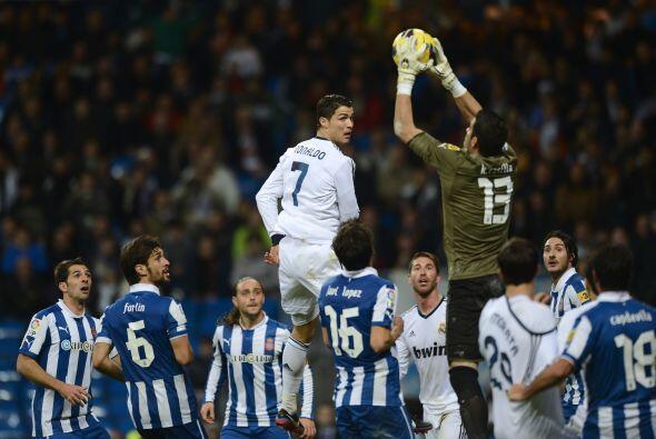 La defensa del Espanyol tuvo su mérito al no dejarse caer luego de ese t...