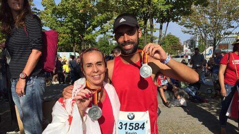 Somos muy afines y correr maratones nos tiene conectados de una forma di...