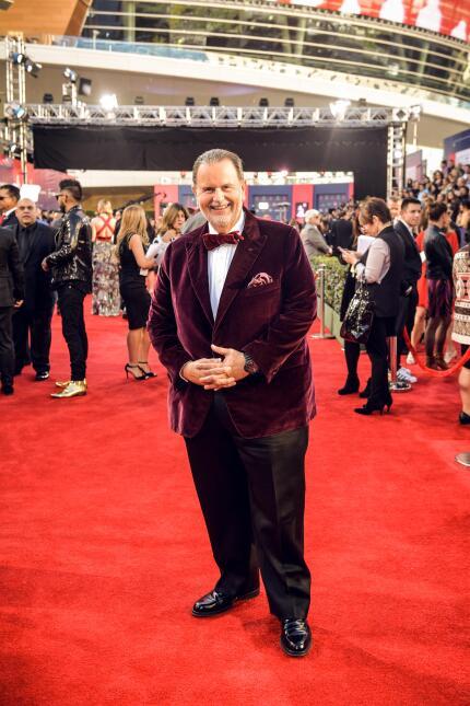 El talento de Univision se lució en la alfombra
