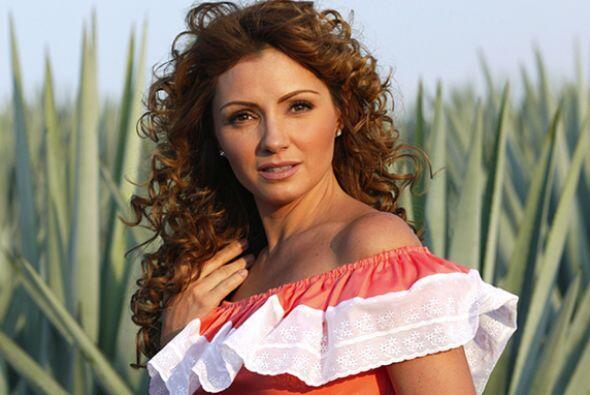 """Y se convirtió en la famosa """"Gaviota"""" de """"Destilando Amor""""."""