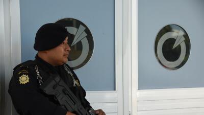 Policía guatemalteco. Foto de archivo.