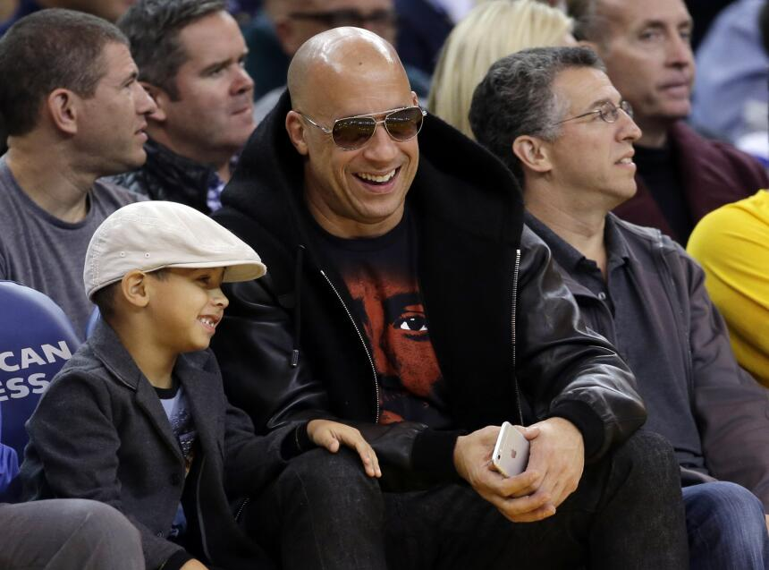 Vin Diesel el famoso Dominic Toretto de The Fast and the Furious serie d...