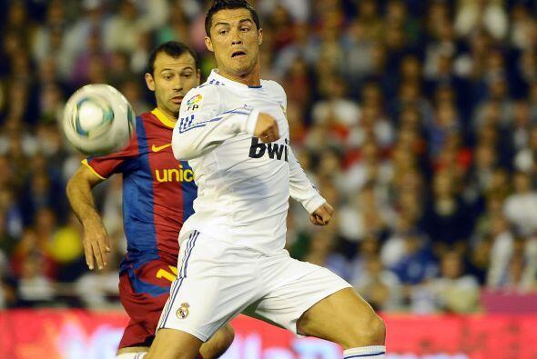 El Madrid tuvo la opción de irse al frente en los pies de Cristiano Rona...