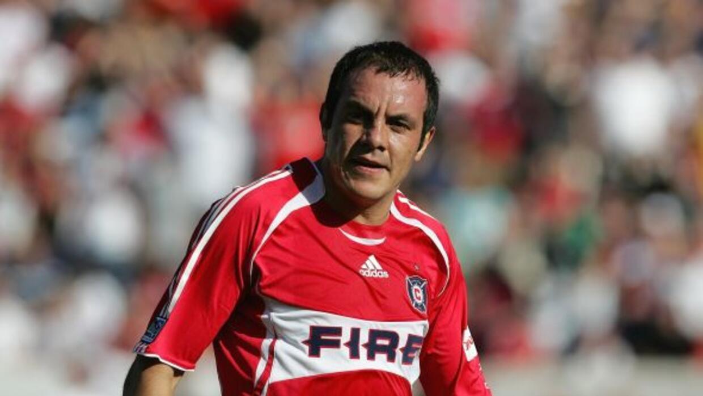En el 2007 llegó al Chicago Fire de la MLS. Su contratació...
