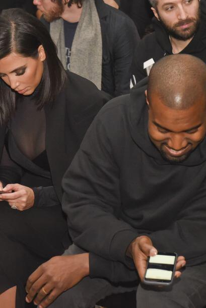 Ahora sabemos qué tienen en común Kim y Kanye, además de su pequeña hija...