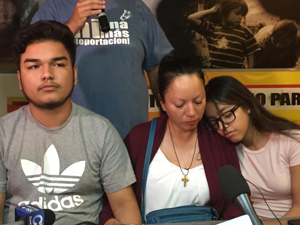 Guadalupe García pasó su primera noche en México acompañada por sus hijo...