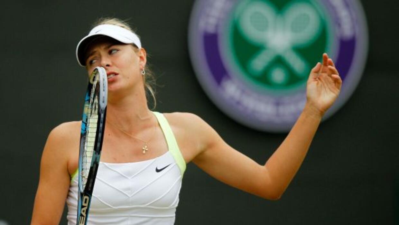 Sharapova buscaba su segunda corona en Londres, después de la que logró...