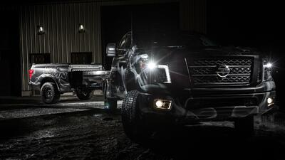 Nissan Smokin' Titan: un BBQ sobre ruedas