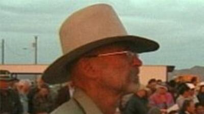 Parte de los 350 rancheros que mostraron su frustación
