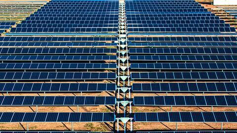 Aura Solar, en Baja California, es una de las plantas fotovoltaicas m&aa...