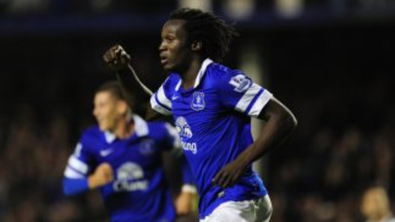 Romel Lukaku está encontrando su mejor forma en el Everton.
