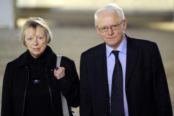 Ante el anuncio de la sentencia Bernard y Charlotte Cassez, padres de Fl...