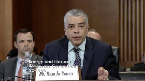El director ejecutivo de la Autoridad de Energía Eléctrica, Ricardo Ramos.