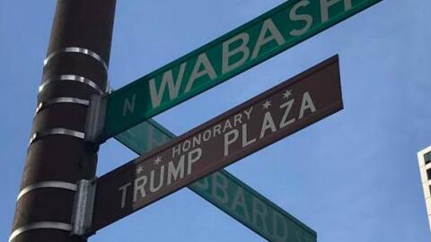 Calle honoraria Donald Trump