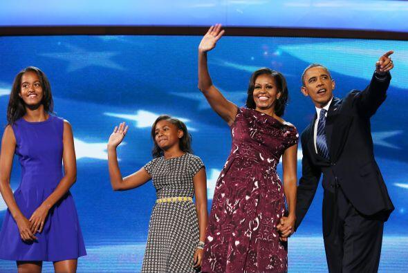 4 de septiembre. El presidente Barack Obama acepta la nominación del Par...