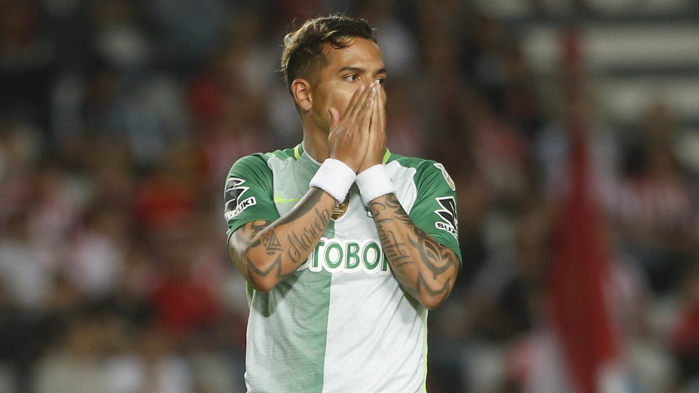 El delantero aún tiene contrato con Atlético Nacional.