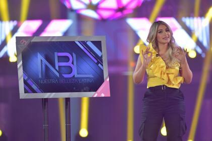 """Desde el primer momento Migbelis abrió su corazón y explicó que """"Sin tallas, sin límites, sin excusas"""" le habría una nueva oportunidad a ella, que había sido tan criticada por su peso en su país, luego de ganar Miss Venezuela."""