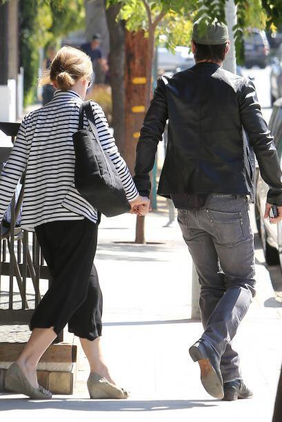 Esta pareja parecer ser muy unida, o al menos eso fue lo que vimos.