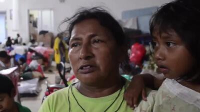 El desgarrador testimonio de una abuela que logró salvar a sus seis nietos de morir en la lava del volcán en Guatemala