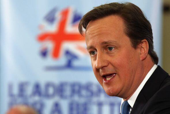El primer ministro de Gran Bretaña, David Cameron, expresó...