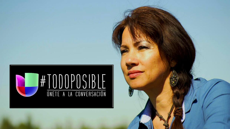 Maria Garza comenzó trabajando en el campo y llegó a ocupar un puesto en...