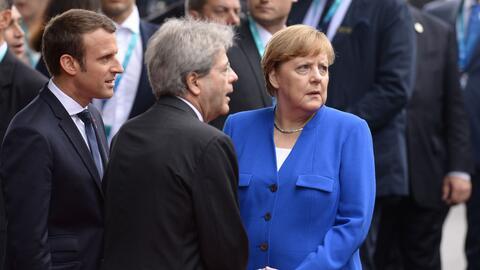 Los mandatarios de Francia, Italia y Alemania pasan a ser ahora los líde...