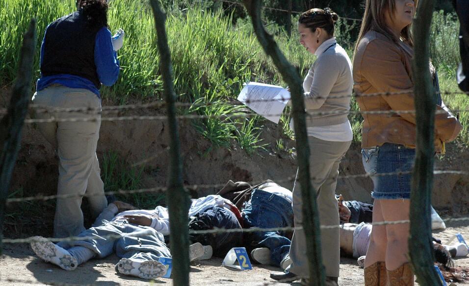 Los cadáveres eran regados en varios puntos de la ciudad.