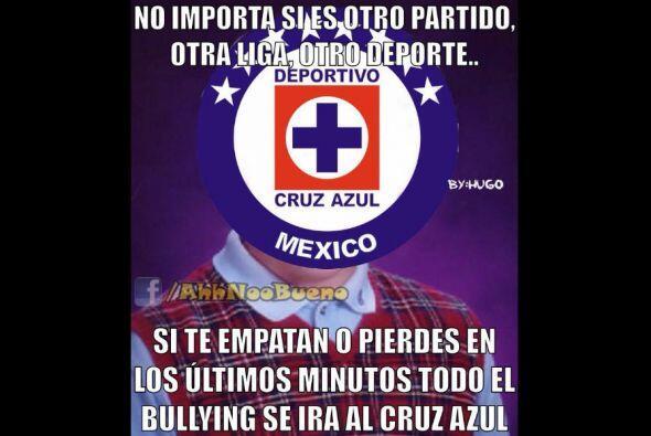 Las redes sociales no perdonaron al Cruz Azul con todo y que ganó ante T...