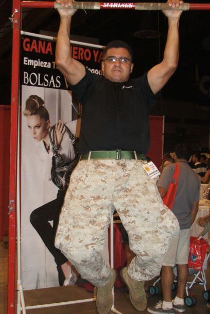 Y hablando de agente, los Marines también tuvieron su puesto y estaban d...