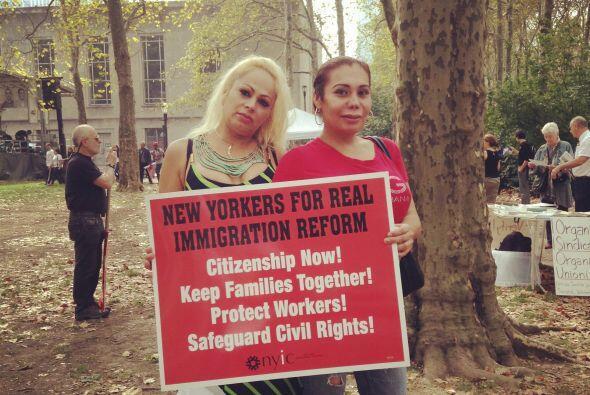 La reforma migratoria despejaría el camino para que unos 9 millones de i...