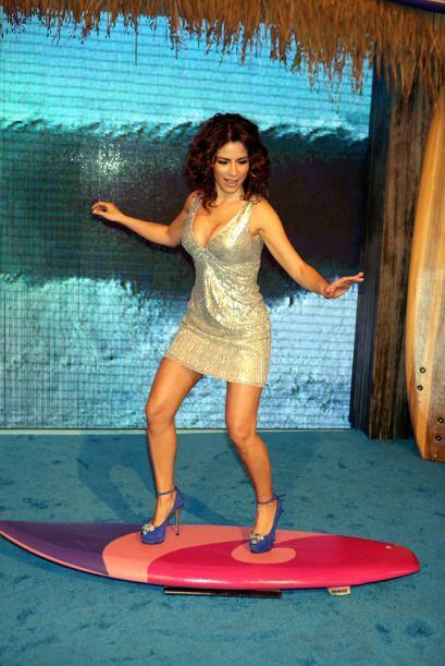 Alessandra Rosaldo conquistó a Eugenio con ese par de piernas.