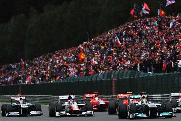 Gran Premio de Bélgica 2011