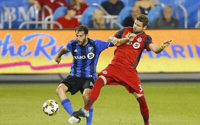 Ignacio Piatti, Drew Moor Toronto FC vs. Montreal Impact