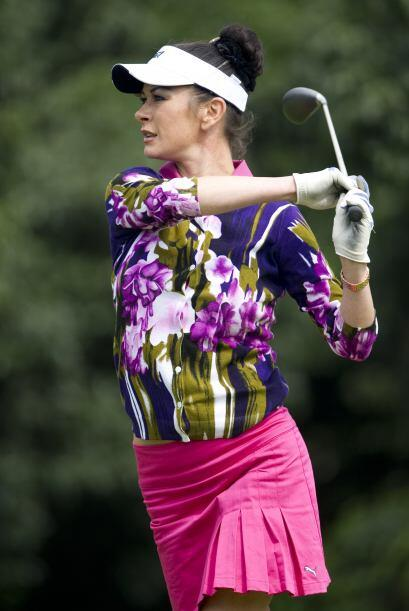 Apasionada del golf, la actriz de Hollywood Catherine Zeta-Jones.