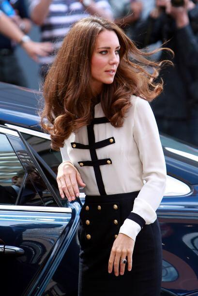 Kate Middleton se ha convertido en la celebridad favorita de los paparazzis