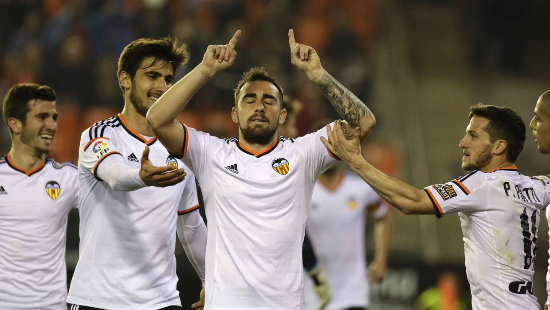Valencia rescata un punto ante el Rayo