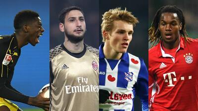 En fotos: estos son los 30 futuros cracks del fútbol en Europa