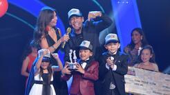 Johnny Lozada y los Peque Flow son los campeones de Pequeños Gigantes USA