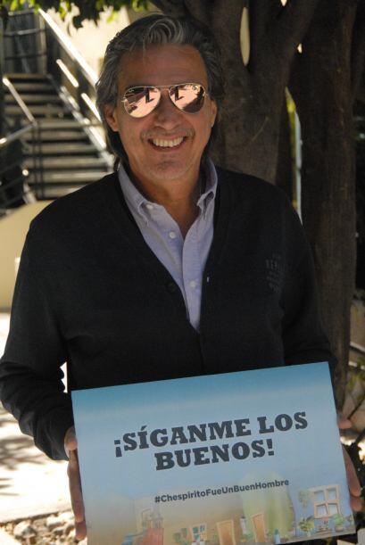 Para Pedro Damian Chespirito es uno de los grandes, por eso se unió al h...