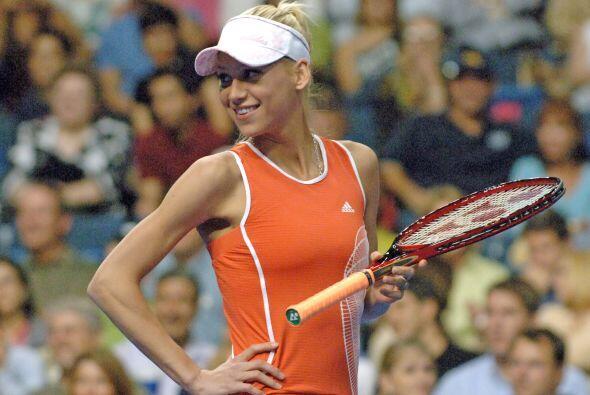 La hermosa tenista Anna Kournikova nació en Moscú el 7 de junio de 1981...
